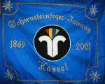 Die Fahne der Schornsteinfegerinnung Kassel